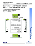 Emerson Process Management ControlWave GFC User's Manual