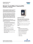 Emerson Process Management Bristol ControlWave ExpressPAC User's Manual