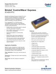 Emerson Process Management Bristol ControlWave Express User's Manual