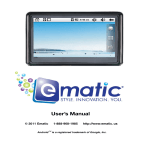 Ematic EL440B User's Manual