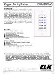 Elk -M1KPAS User's Manual