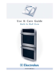 Electrolux E30EW85GPS User's Manual