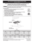 Electrolux EW30GC55GB Installation Instructions