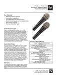 Electro-Voice PL24 User's Manual