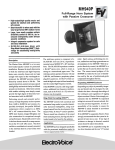 Electro-Voice MH940P User's Manual