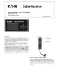 Eaton Electrical POW-R-COMMAND 1000 User's Manual