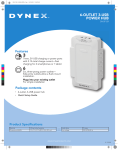 Dynex 6-Outlet, Brochure