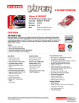 Diamond Multimedia Radeon X1950XT256PCIE User's Manual