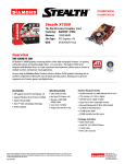 Diamond Multimedia Radeon X1050PCIE256 User's Manual