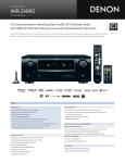 Denon AVR-2309CI User's Manual