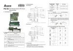 Delta Electronics PG-05 User's Manual