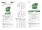 Delta Electronics EMV-PG01 User's Manual