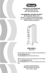 De'Longhi TRH0715SH User's Manual