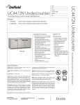 Delfield UC4472N User's Manual