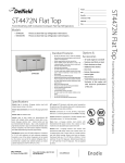 Delfield STD4472N-S User's Manual