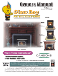 Dansons Group GLOW BOY FGB User's Manual