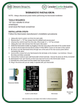 Dansons Group AcuTron Control Board User's Manual