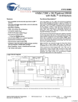 Cypress CY7C1350G User's Manual