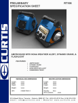 Curtis RT106 User's Manual