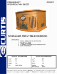 Curtis RCD817 User's Manual