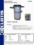Curtis FRP500 User's Manual