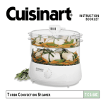 Cuisinart TCS-60C User's Manual