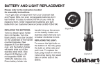 Cuisinart PG-25400A User's Manual