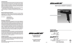 Craftsman SV800 Owner's Manual