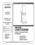 Craftsman SP5373 Owner's Manual