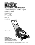 Craftsman 37411 Owner's Manual