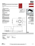 Cooper Lighting QCT902ICMH User's Manual