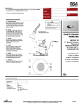 Cooper Lighting QCT2175 User's Manual