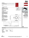 Cooper Lighting QCT-902-IC User's Manual