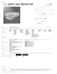Cooper Lighting OVZ50SR22E4 User's Manual