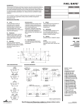 Cooper Lighting FUS12 User's Manual