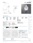 Cooper Lighting Acorn ANE50SR2554 User's Manual