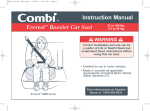 Combi Everest 8400 User's Manual
