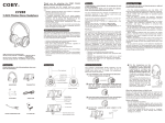 COBY electronic CV 890 User's Manual