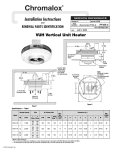 Chromalox PF450-5 User's Manual