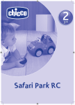 Chicco Safari Tracker Owner's Manual