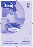 Chicco Hello Pups Talking Phone Owner's Manual