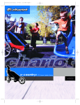 Chariot Carriers X-Country Stroller User's Manual