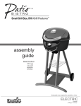 Char-Broil BISTRO 10601514 User's Manual