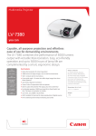Canon LV-7380 User's Manual
