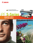 Canon imagePROGRAF iPF6000S High Res Print Brochure