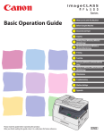 Canon imageCLASS MF6540 Operation Manual