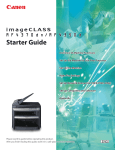 Canon ImageCLASS MF4370DN User's Manual