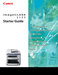 Canon imageCLASS D480 Getting Started Guide