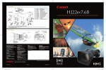 Canon HJ22EX7.6B User's Manual