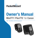 Canon FlexTT5 User's Manual